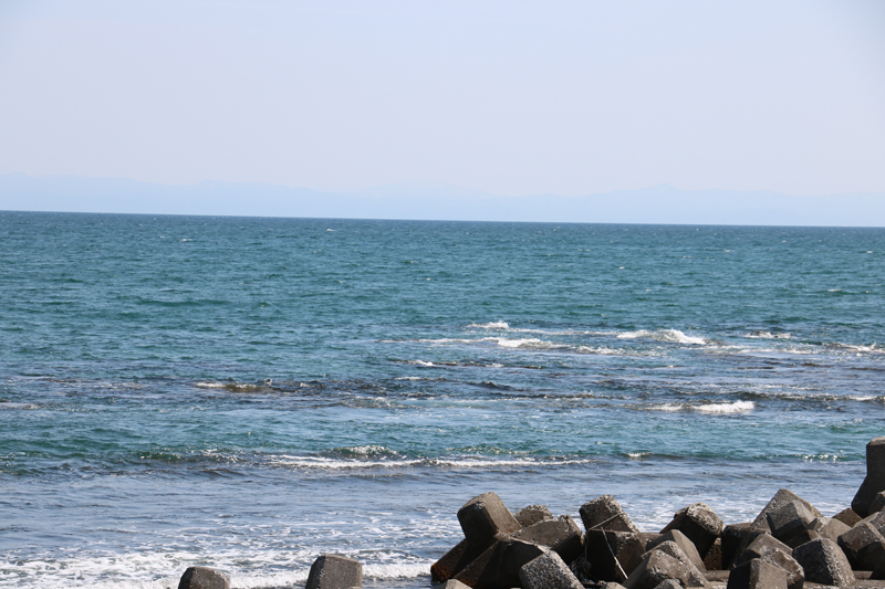 釜谷の海岸