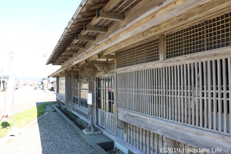 旧笹浪家住宅玄関