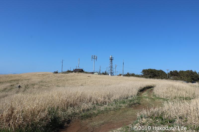 洲根子岬灯台跡