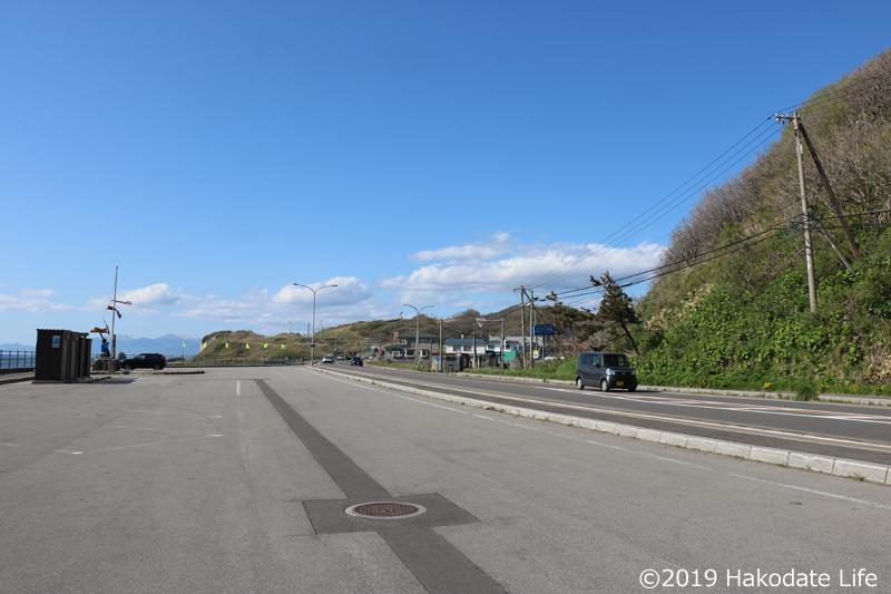 繁次郎浜から田沢方面を望む