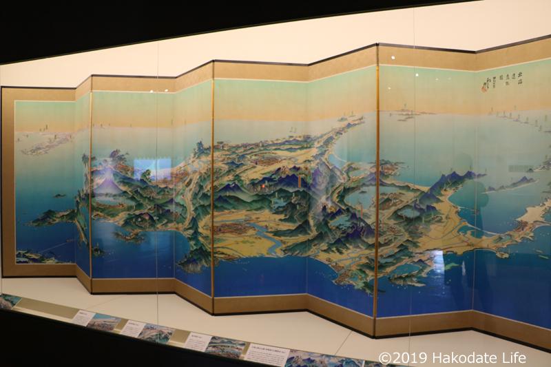 北海道鳥瞰図