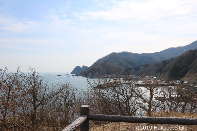 小谷石展望台からの風景