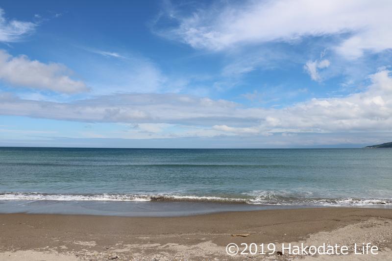 海岸の砂浜
