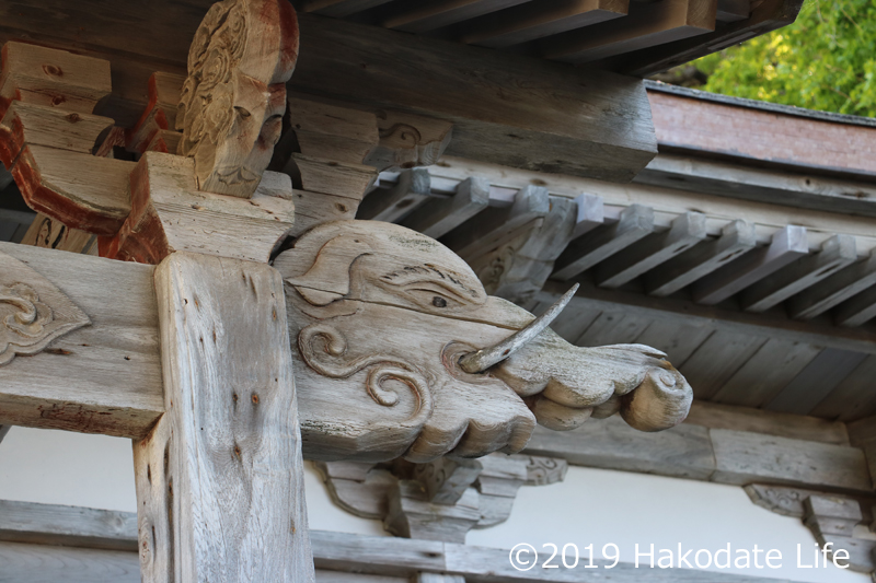 バクの彫刻