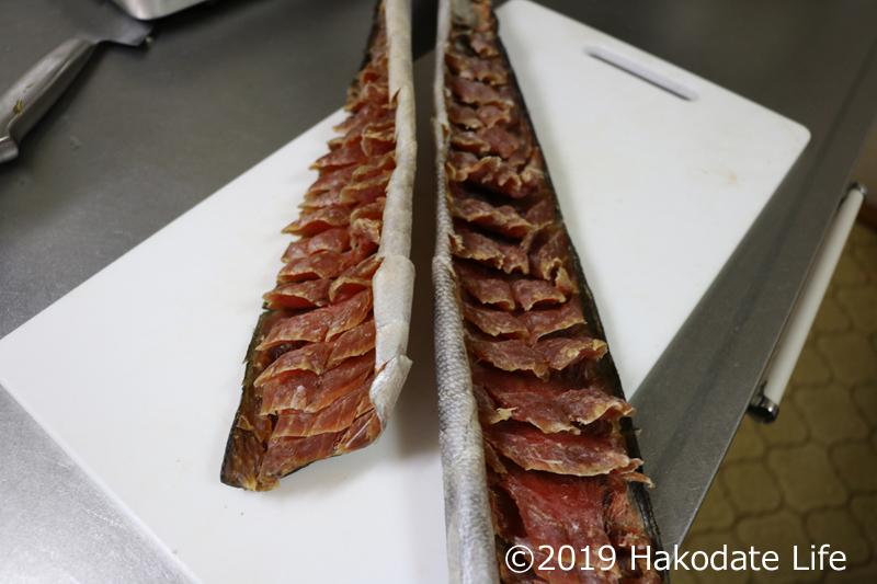 鮭とばスライス②