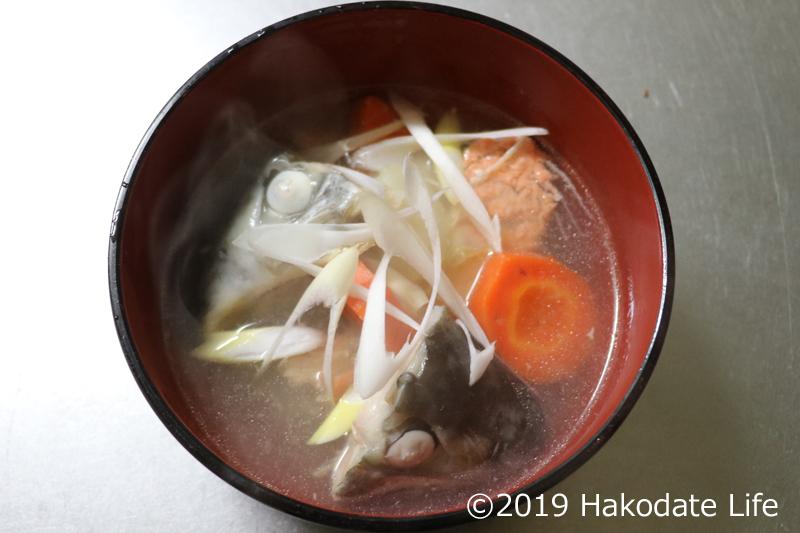 紅鮭の三平汁