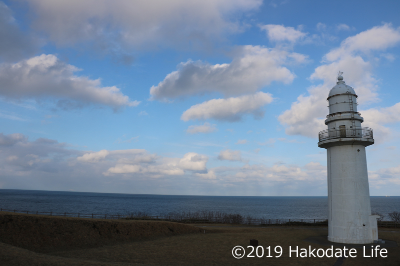 恵山岬灯台①