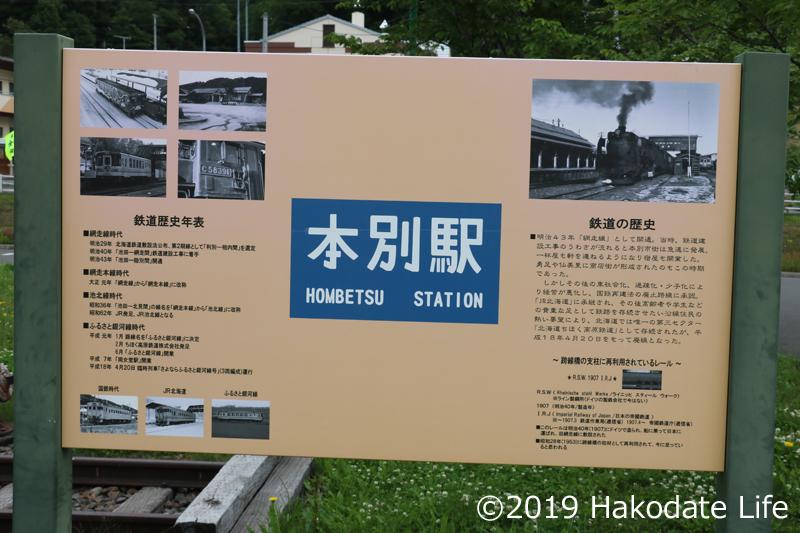 本別駅の歴史版