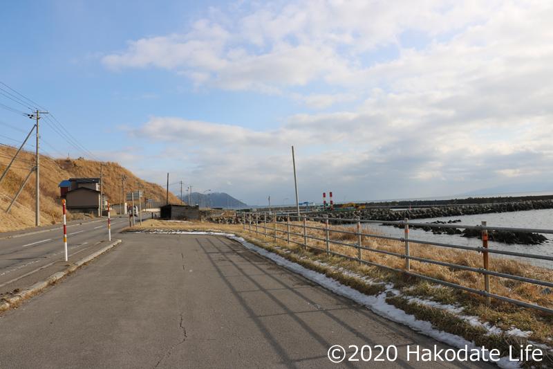 石崎漁港付近