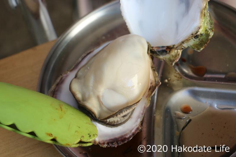 プリプリの焼き牡蠣