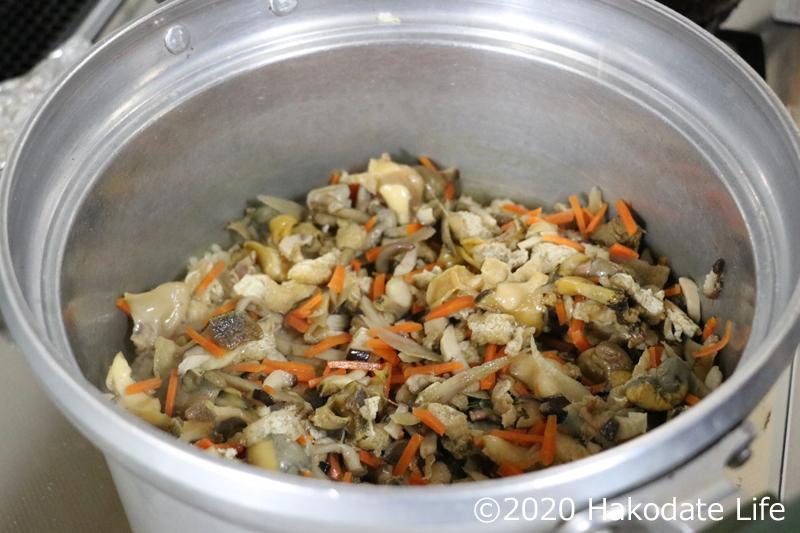 方 茹で つぶ 貝