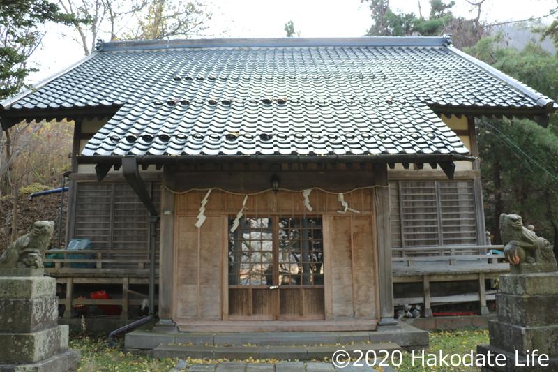 住三吉神社社殿