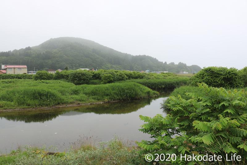 久保田川付近の尻岸内川