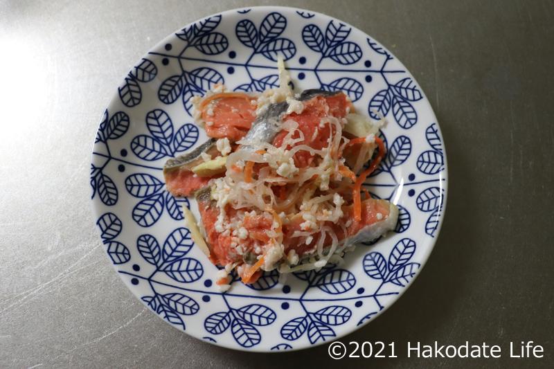 紅鮭の飯寿司