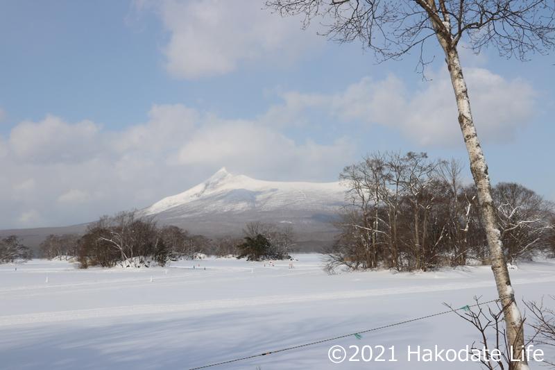 厳寒の駒ヶ岳