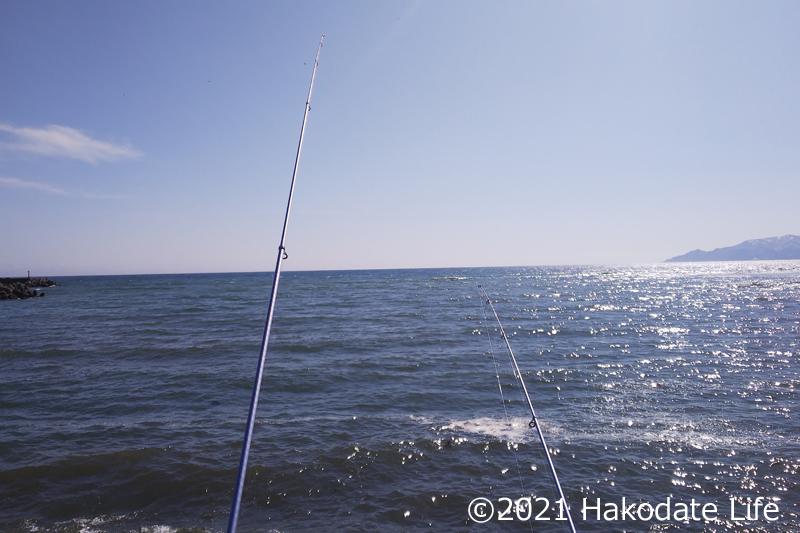 うねりのある海
