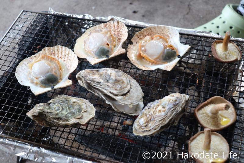 牡蠣ホタテ2巡目